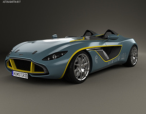 3D model Aston Martin CC100 Speedster 2013