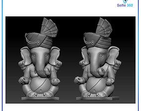 3d Ganesha Idol 3D Printable model