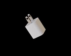 3D model Apple 5W Power Brick Charger