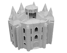 Holy Chain Monastery Modular Scenery 3D printable model
