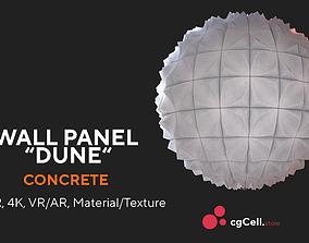 Wall panel Full Procedural material 3D model