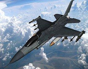 F16 Fighter 3D model