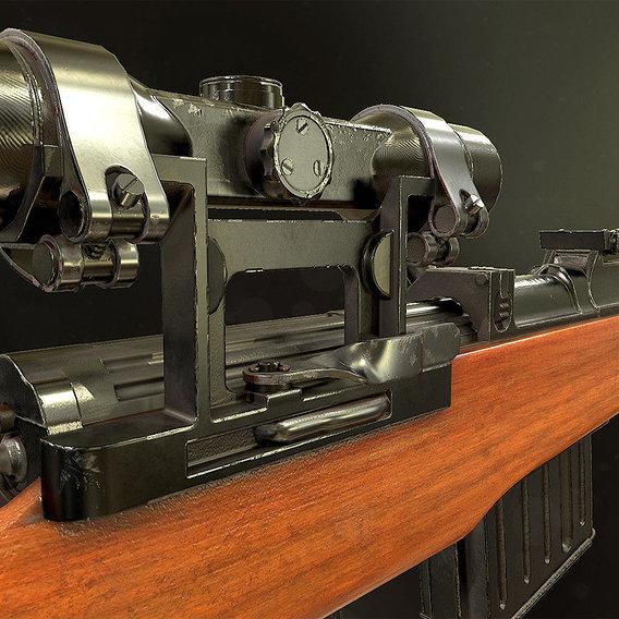 Gewehr 43 Sniper Rifle