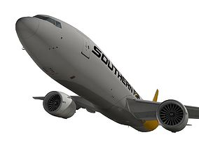Boeing 777-200F Southern Air 3D model