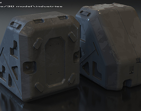 architecture 3D model Container