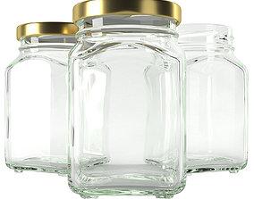jar glass type3 3D