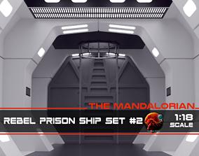 3D print model The Mandalorian - Rebel Prison Ship 2 - 3