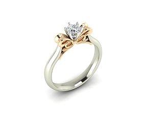 Ring 48 3D print model jewelry
