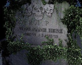 Grave Stone 3D