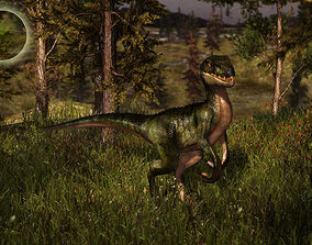 3Dfoin - Raptor animated