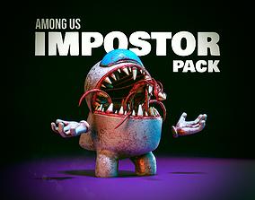 Among us - Impostor Pack 3D asset