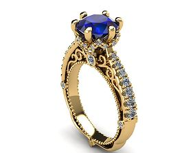 openwork ring 3D printable model
