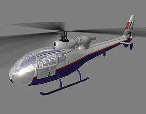 3D model Gazelle V3 Helicopter