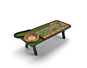 3D model Casino Game Table