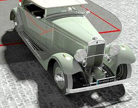 3D model Delta Cabriolet closed top