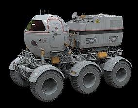 3D model STAR COPS MOON ROVER