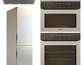 Miele appliance set 3D