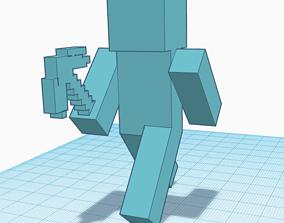 Steve Minecraft 3D print model