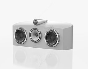 3D Bowers and Wilkins HTM2 D3 Satin White