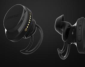 Bose Soundsport Earbuds 3D model
