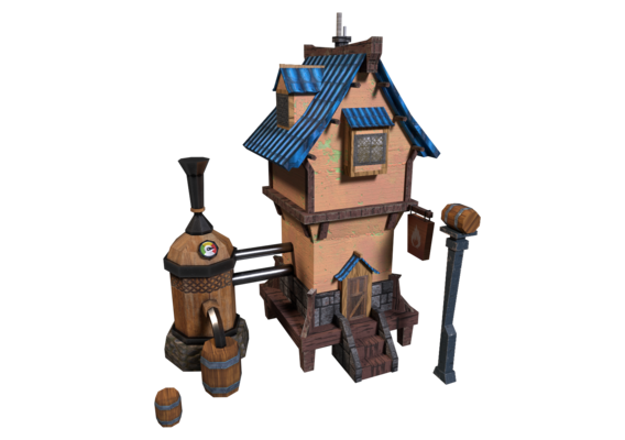 house Lowpoly_v1