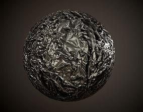 Plastic Trash Bag Seamless PBR Texture 3D model