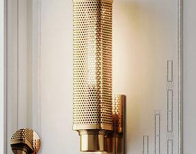 3D Oxon Hill 1-Light Armed Wall Sconce by Brayden Studio