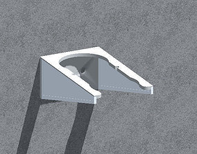 3D printable model kitchen Wall bracket -