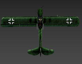 Fieseler Storch Fi 156 With pilot 3D asset
