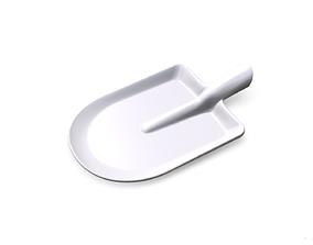 Plate Shovel 3D print model