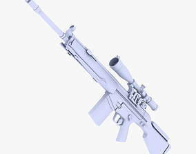 3D asset G3A3 Scoped