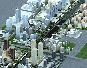 beijing Chang An avenue 3D