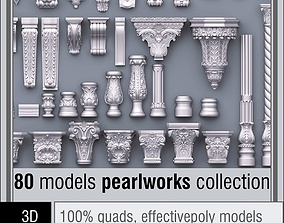 Pearlworks 80 items collection 3D