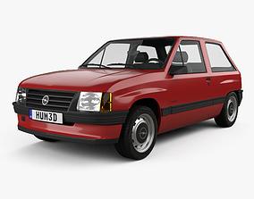 Opel Corsa 3-door 1985 3D