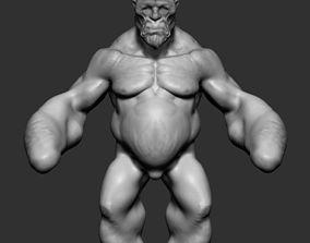 3D model Creature Body Form v3
