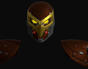 3D print model SpiderMan Shocker Helmet and