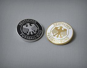 3D print model Germany national football team Logo enamel