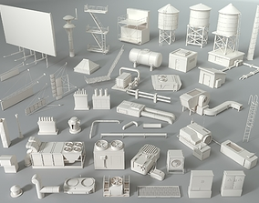 3D Rooftop Collection - 2 - 44 pieces