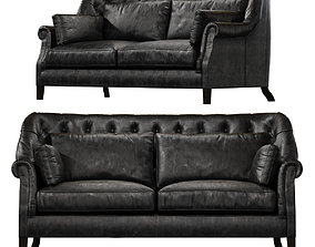 Bedford 2 Seater Timothy Oulton 3D asset