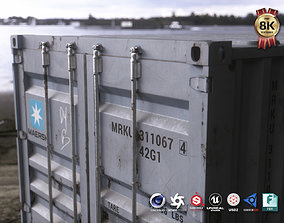 40 ft Shipping Container 3D asset VR / AR ready