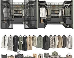 Walk-in Closet Poliform Ubik 4 3D model
