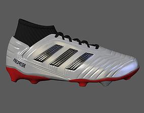 sports 3D model FootBall Boots