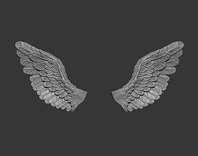 3D printable model Sad angel wings