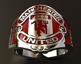 3D printable model Manchester United Ring
