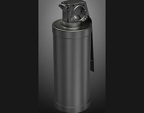 weapon grenade M18 subdivison ready 3D