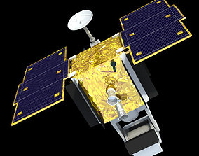 3D SBSS Spy Satellite