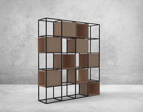 Shelves 360 3D asset