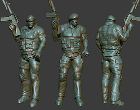 Army Man 3D Printable male