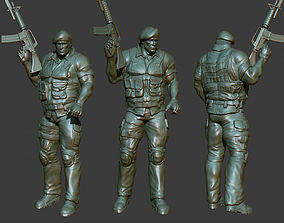 Army Man 3D Printable male