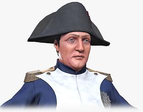 Napoleon Bonaparte I 3D model